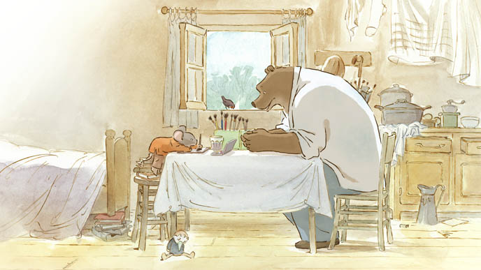 UNDATED - Ernest et Celestine  FILM REVIEW . Courtesy of Mongrel Media.